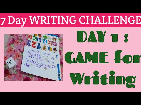 Tamil Letter Writing Games for 3 Year Olds|Game for kids Writing Practice, Tracing|Writing Tamil
