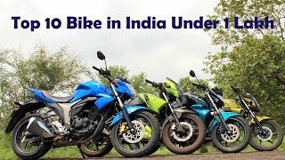 2016 Top 10 Bikes in India Under 1 lakh with Mileage,Top speed, Price and Specs