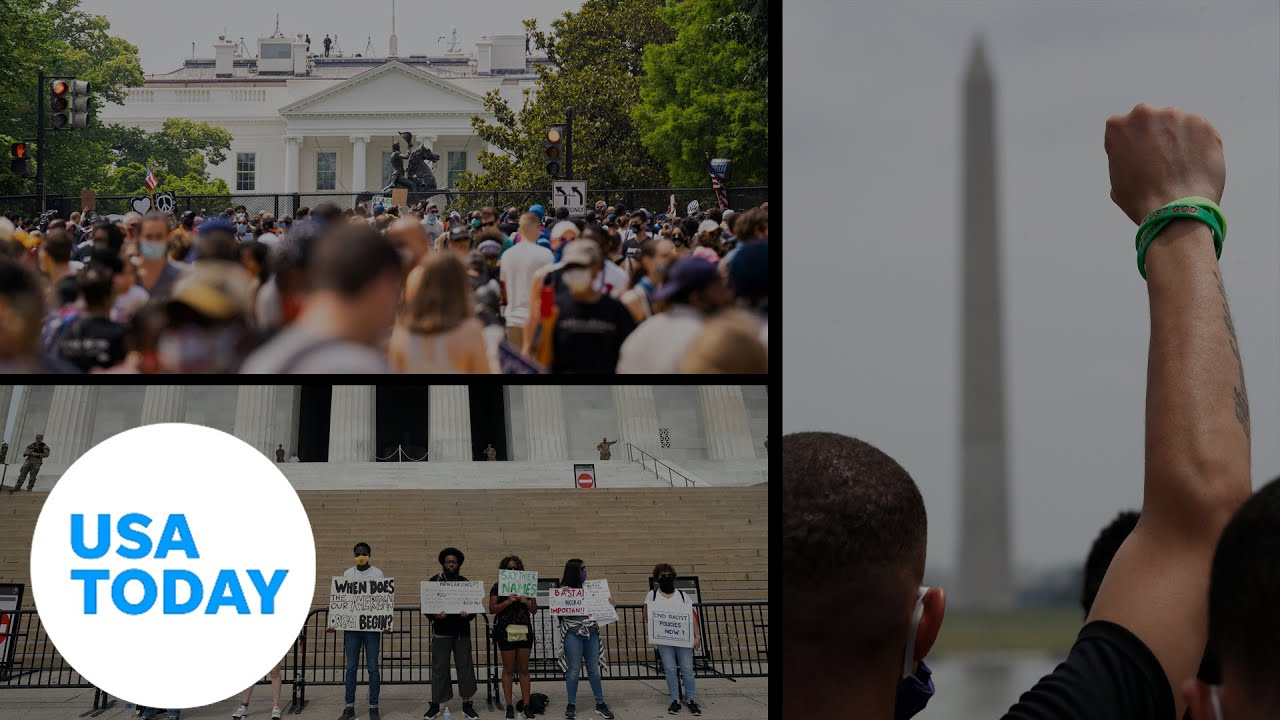 Large demonstrations in Washington, DC anchor weekend of protests (LIVE) | USA TODAY