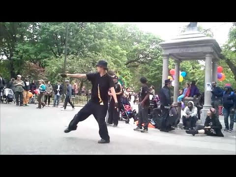 Break Dancing @ NYC Dance Parade 2016 in Tompkins Square Park