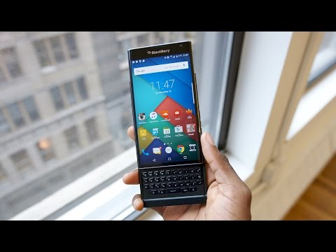 [MKBHD] Blackberry Priv Review