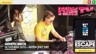 GeneticBros - Drum & Bass Mix - Panda Mix Show thumbnail