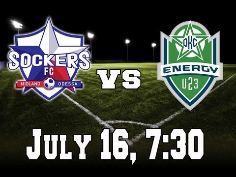 Midland/Odessa Sockers VS Oklahoma City Energy U23
