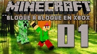 Minecraft Xbox 360 Ep 01 en Español - Sólo un pozo
