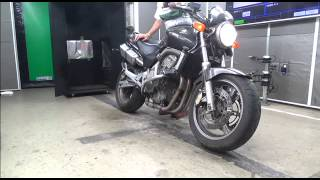 1999 Honda CB600F Hornet-r(Видео материалы для определения работы двигателя 1999 Honda CB600F Hornet на Японских Мото Аукционах. www.Synergosmoto.Com..., 2015-09-08T05:29:45.000Z)