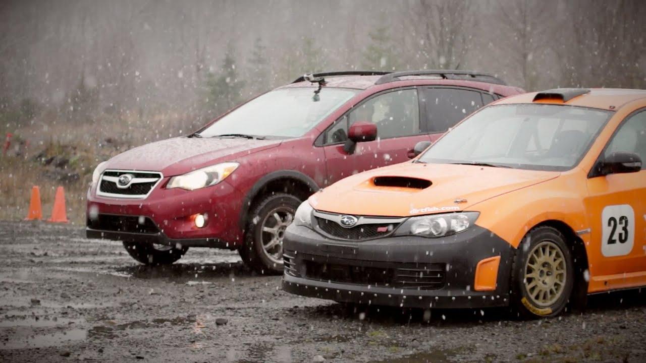 Subiesport Tv Megatest Subaru Xv Crosstrek Vs Rally Wrx Sti Youtube