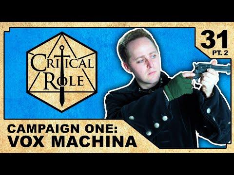 Gunpowder Plot, pt. 2    Critical Role RPG Show Episode 31