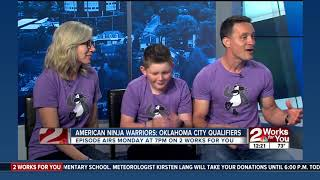 American Ninja Warrior competitor discusses training for show