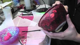 DIY Valentine's Day Resin Heart Bowl