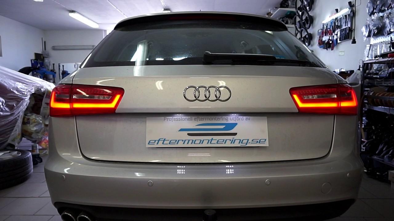 Installera / aktivera dynamisk blinkers / flytande blinkers i Audi