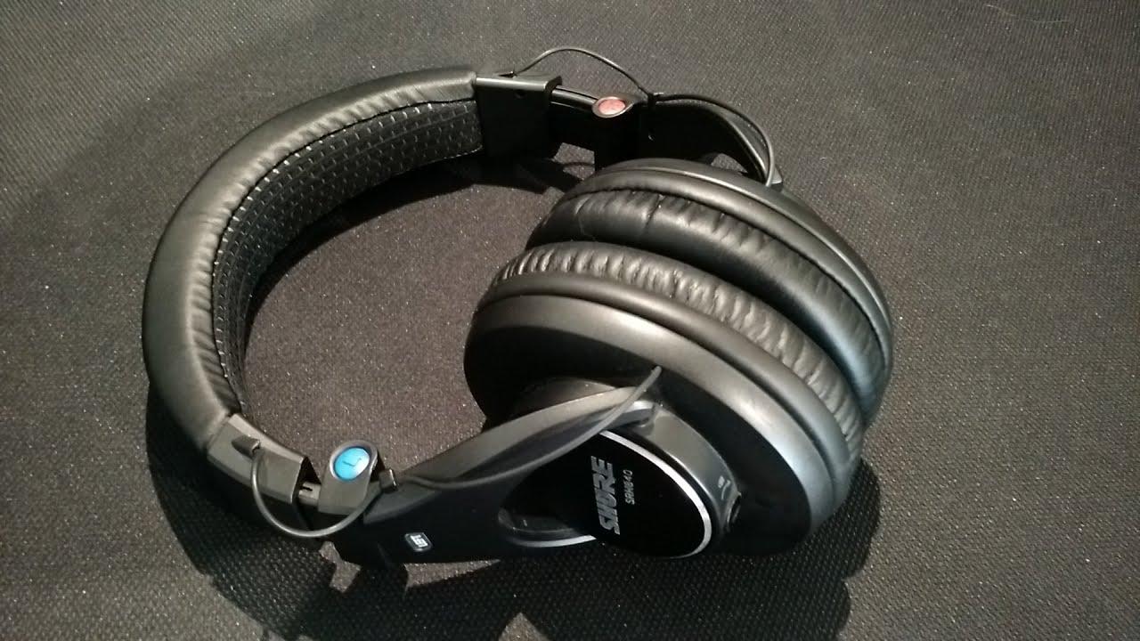 Shure SRH840 - top 5 best studio headphones