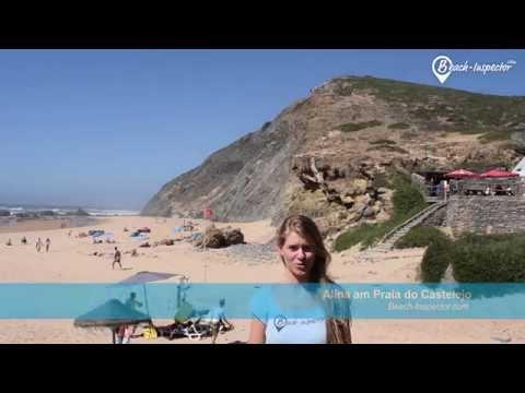 Urlaub am Strand Praia do Castelejo an der Algarve