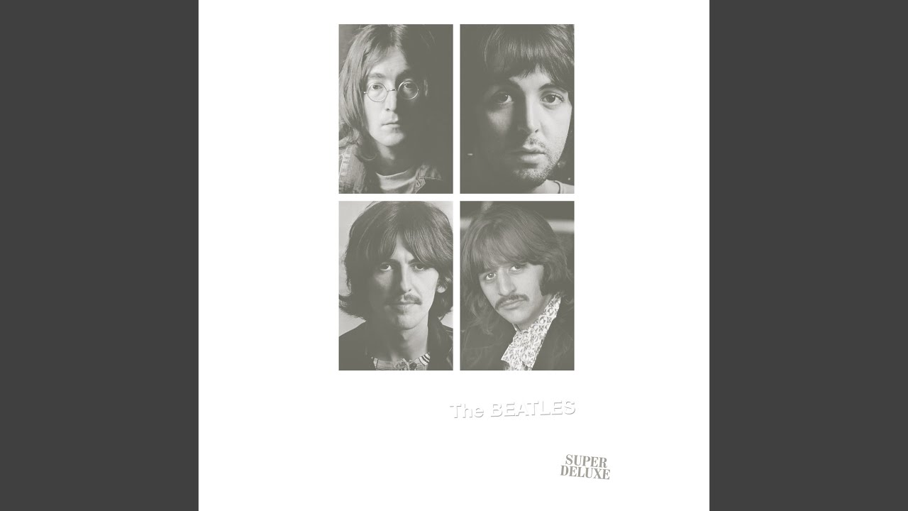 The Beatles 6 McCartney Lennon Rock Band Poster Running Away Black White Photo