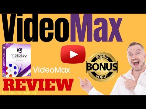 Videomax Review ⚠️ WARNING ⚠️ DON'T BUY VIDEO MAX WITHOUT MY . http://bit.ly/2ZGeOXD