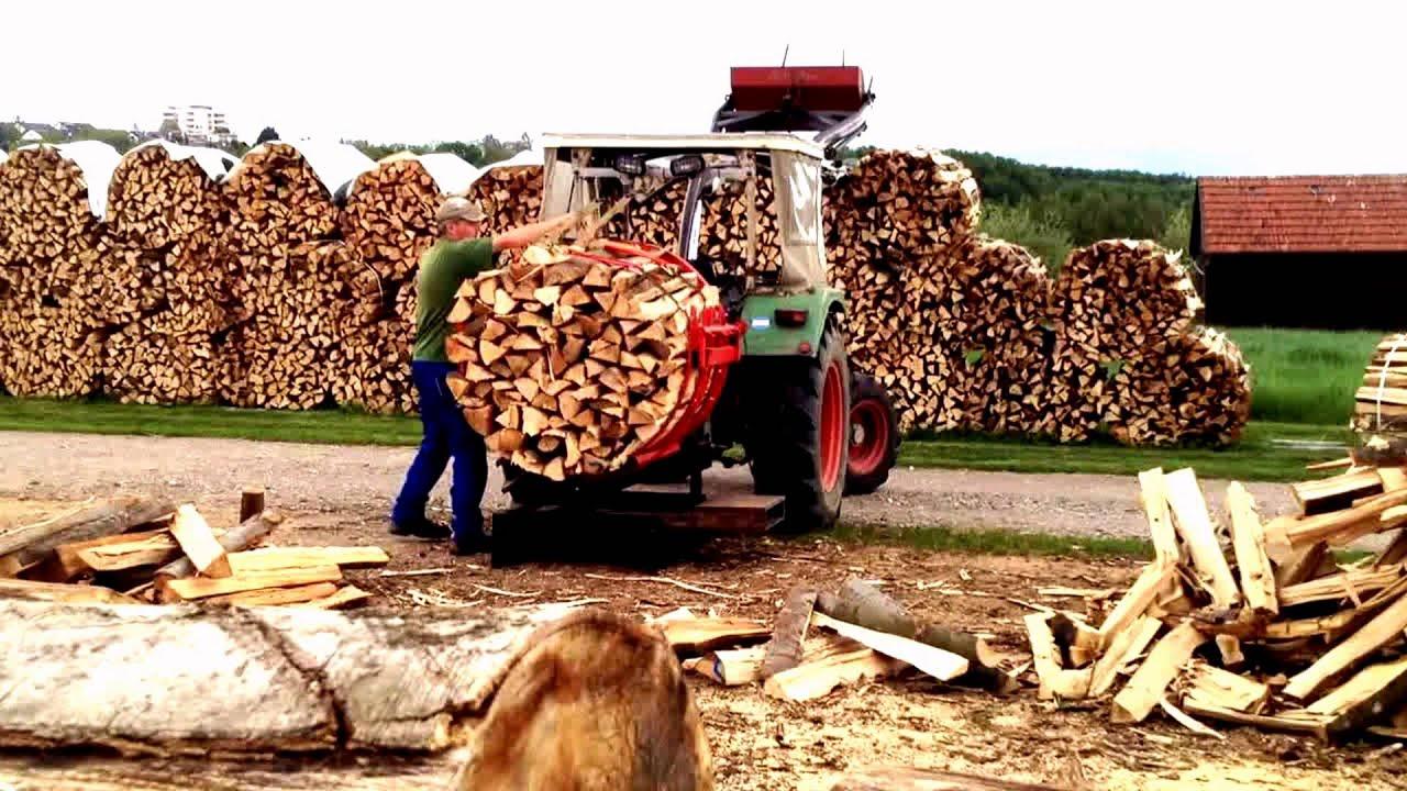 Super Brennholz bündeln (lange Version) - YouTube @HV_14