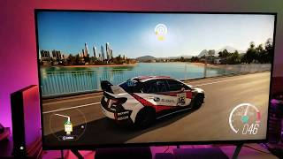 Forza Horizon 3 : Xbox One X   TCL 55R617 Custom Picture Settings