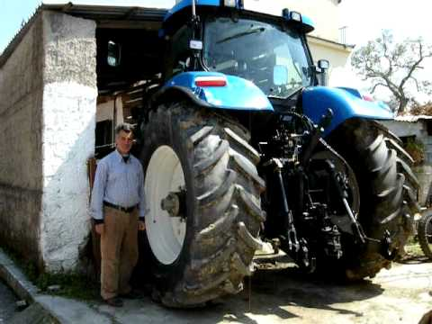New Holland T7030 - Dimitris, Greece