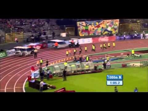 Adam Kszczot z czasem 2:15:72 na 1000m - Diamentowa Liga Bruksela 2014