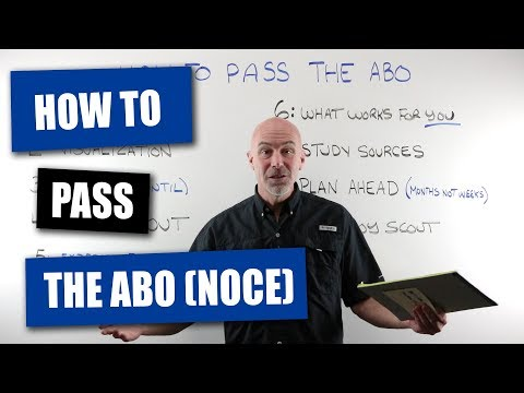 How To Pass The ABO (NOCE) Optician Exam