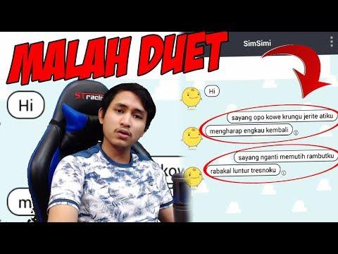 Text Prank Simsimi Pake Lagu Sayang Via Vallen Malah Jadi Duet Dangdutan Kocak Wkwkwk