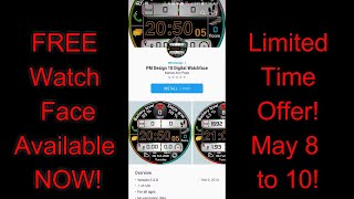 Samsung Gear S3/Gear Sport FREE Watch Face by MM Design - LIMITED TIME OFFER! - Jibber Jab Reviews!