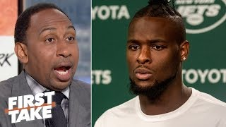Le'Veon Bell shouldn't have opened his mouth on social media - Stephen A. | First Take thumbnail