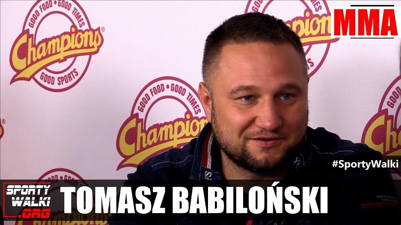 Babiloński o walkach Szpilka-Włodarczyk i Włodarczyk-Masternak w MMA