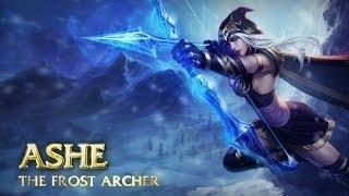 Ashe Guide - Cách chơi lên đồ Build cho Ashe