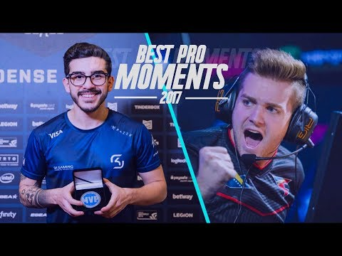 CS:GO - BEST PRO MOMENTS! 2017 (Flickshots, Crazy Clutches, Inhuman Reactions, ACEs, Best Frags)