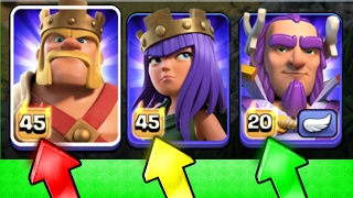 OMG!! WE HAVE FINALLY DONE IT!! 💥 Clash Of Clans 💥 ALL MAX LEVEL HERO'S!!