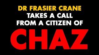Frasier talks to citizen of CHAZ