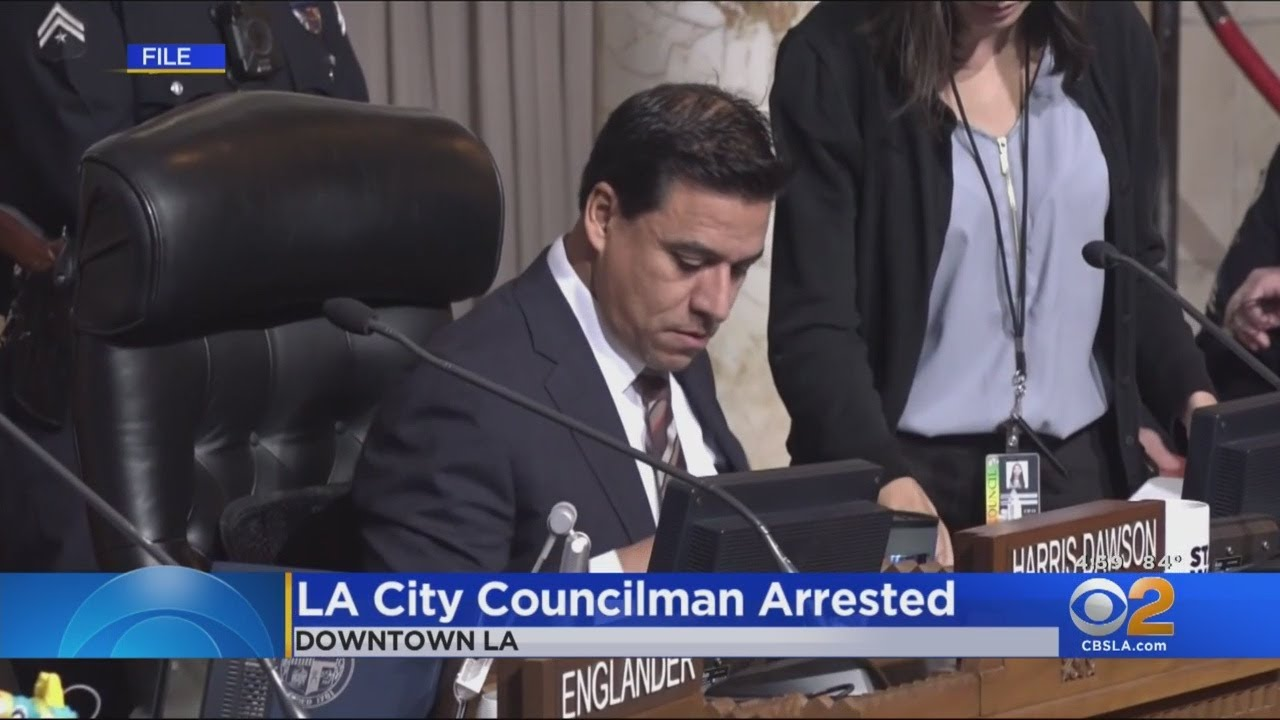 LA City Councilman Jose Huizar Arrested On Corruption Charges