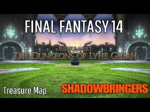 FINAL FANTASY 14 SHADOWBRINGERS ( Treasure Maps )