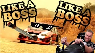 Like A Boss Mitsubishi Lancer Evo 9 - Dirt 2
