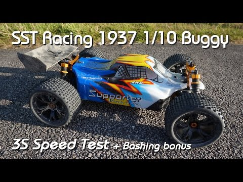 • SST Racing - 1937 1/10 buggy - 3S Speed test •