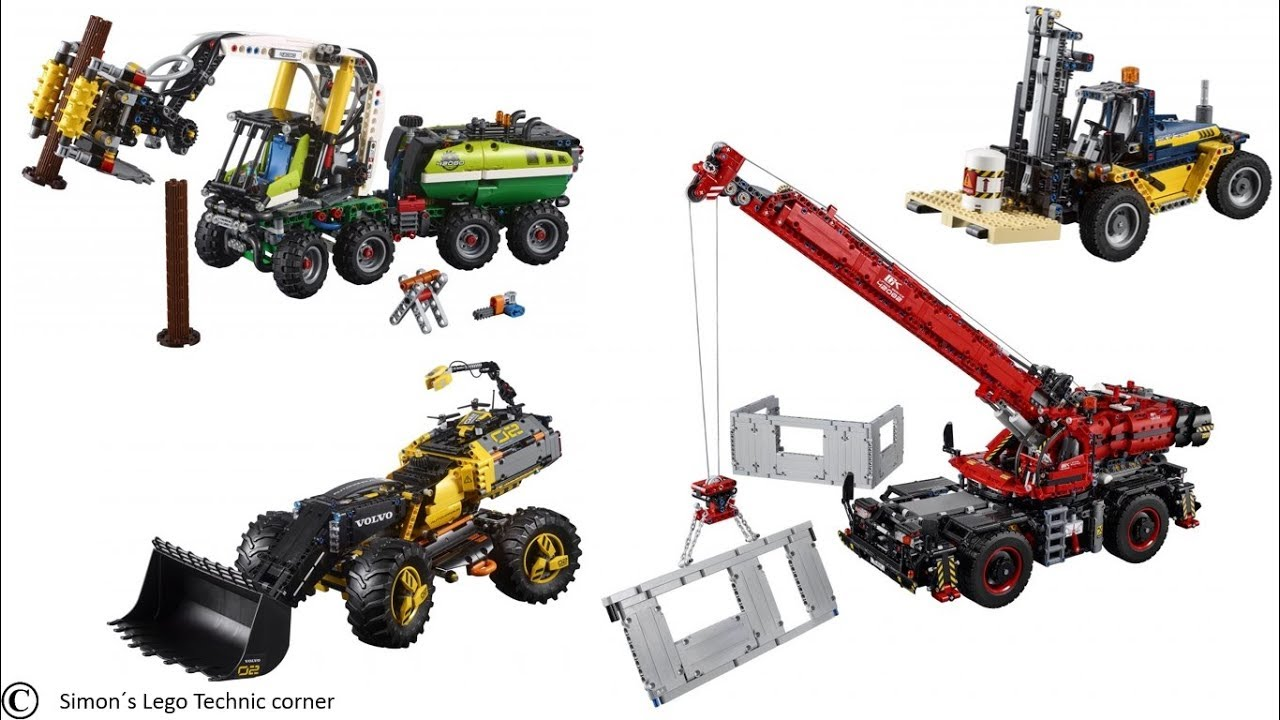 lego technic 2018 summer sets youtube