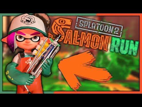 UNE NOUVELLE ARME EXCLUSIVE !   SPLATOON 2 EPISODE 5 SALMON RUN FR
