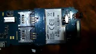 Samsung e1282t on off switch track