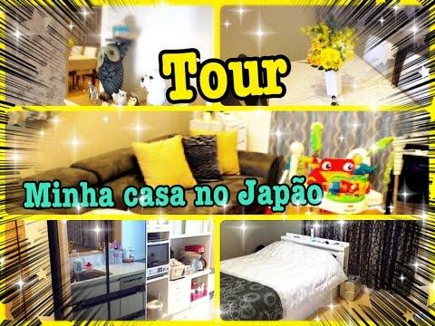 Tour minha casa no Japão(comemoração 100k🎉)