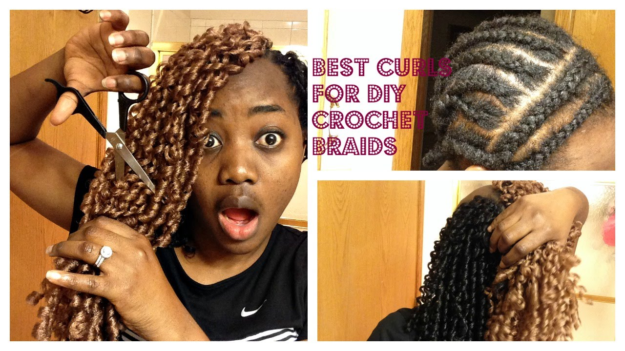 ... DIY CURLS FOR CROCHET BRAIDS/ROYAL SILK SOFT DREAD BRAIDS - YouTube