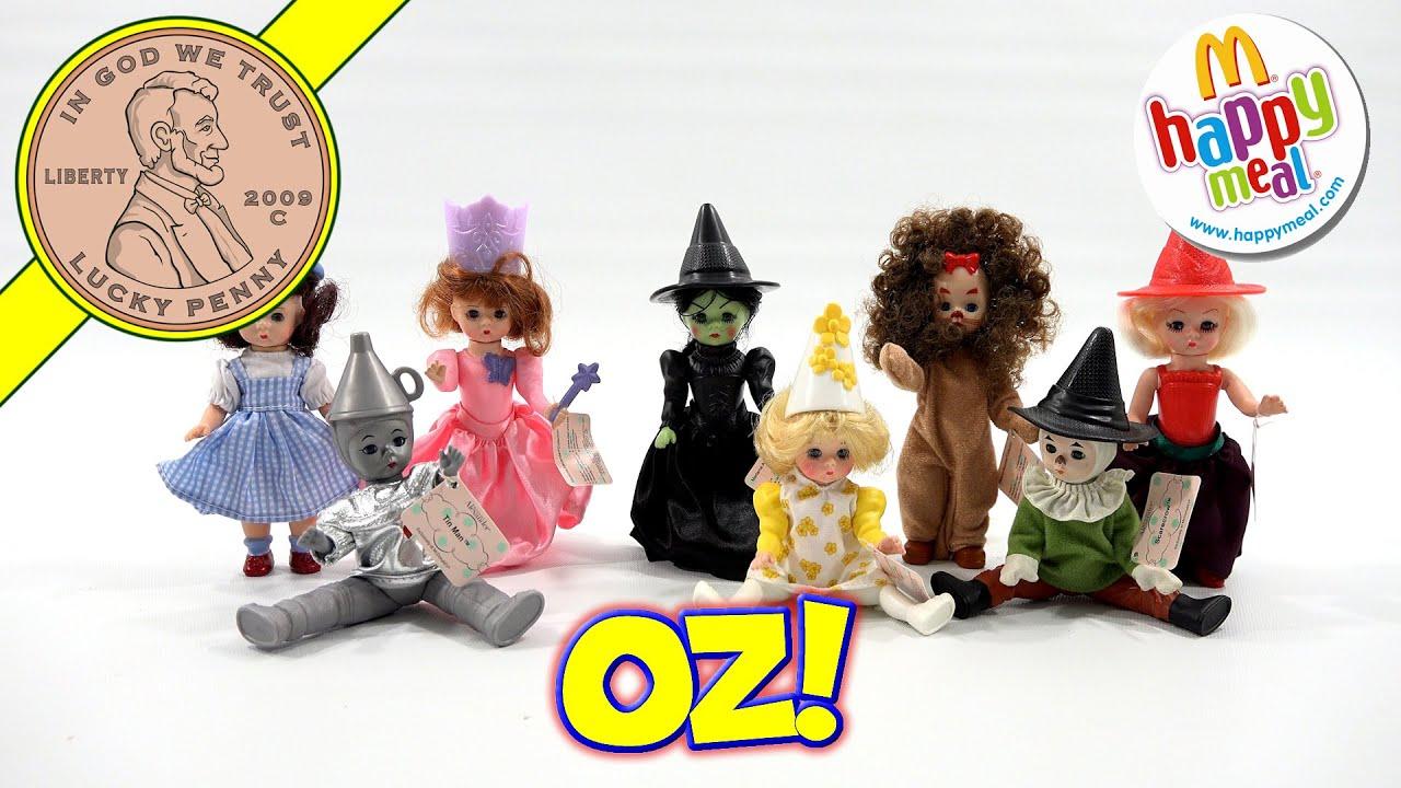 2008 Tin Man #7 McDonald/'s Series 2 Madame Alexander Doll Wizard Of Oz Figure