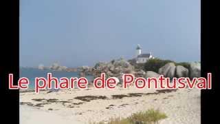 Bretagna, il faro di Pontusval in camper - Bretagne, le phare de Pontusval en camping car