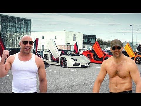 Jason Statham's Cars VS Vin Diesel's Cars ★ 2019