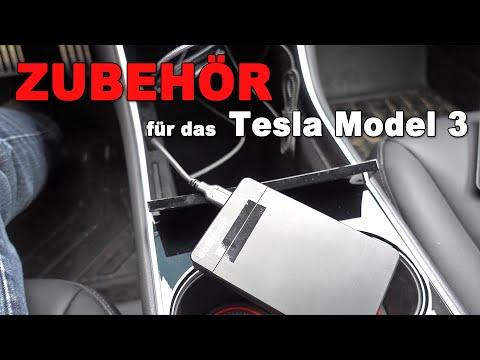 Sinnvolles Zubehör für Tesla Model 3