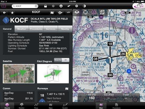 How I Use My iPad In The Cockpit LIVE At Sun n Fun 2014 - MzeroA Flight Training