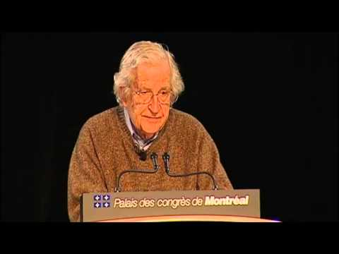 UQAM.tv   Conférence «What is language, and why does it matter?» de Noam Chomsky