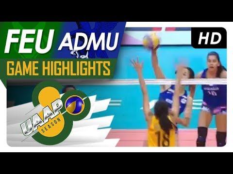 UAAP 80 WV Final Four: FEU vs. ADMU   Game Highlights   April 21, 2018