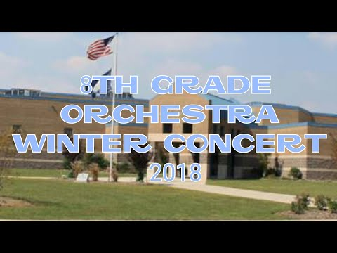 Potomac Middle School-8th Grade Orchestra Winter Concert 2018