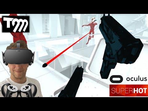 ENTER THE MATRIX | SuperHOT VR (Oculus Rift VR + Touch Gameplay)