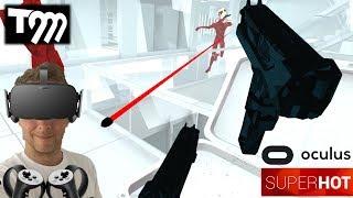 ENTER THE MATRIX   SuperHOT VR (Oculus Rift VR + Touch Gameplay)